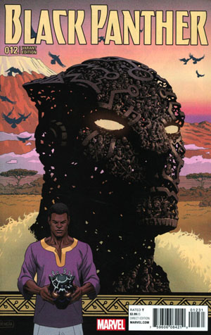 Black Panther Vol 6 #12 Cover B Variant Paolo Rivera Connecting Cover