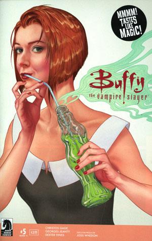 Buffy The Vampire Slayer Season 11 #5 Cover A Regular Steve Morris Cover