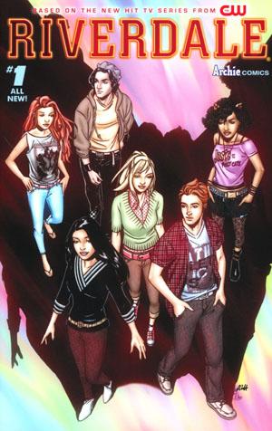 Riverdale #1 Cover A Regular Alitha Martinez Cover