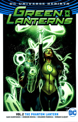 Green Lanterns (Rebirth) Vol 2 Phantom Lantern TP