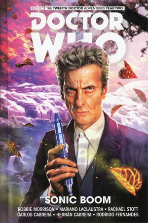 Doctor Who 12th Doctor Vol 6 Sonic Boom HC