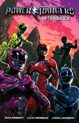 Sabans Power Rangers Aftershock TP Previews Exclusive Greg Smallwood Cover