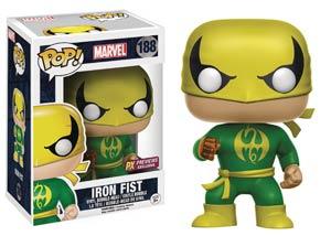 POP Marvel 188 Iron Fist Previews Exclusive Vinyl Bobble Head