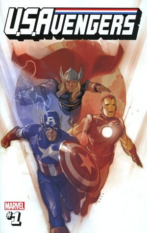 U.S.Avengers #1 Cover Z-Z-L Incentive Phil Noto Secret Variant Cover