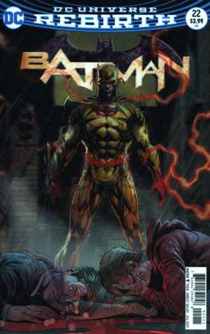 Batman Vol 3 #22 Cover A Regular Jason Fabok Lenticular Cover (The Button Part 3)