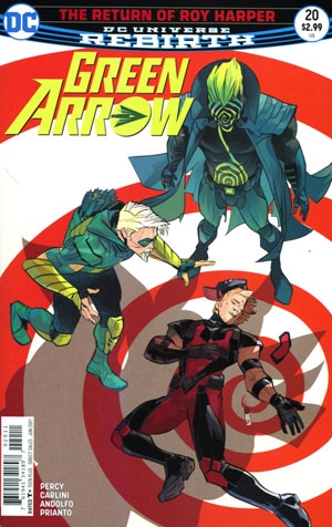 Green Arrow Vol 7 #20 Cover A Regular W Scott Forbes Cover