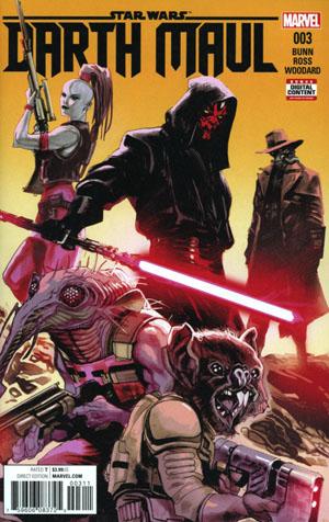 Star Wars Darth Maul #3 Cover A 1st Ptg Regular Rafael Albuquerque Cover