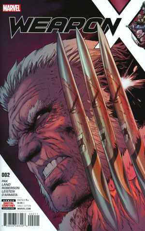 Weapon X Vol 3 #2 Cover A 1st Ptg Regular Greg Land Cover (Resurrxion Tie-In)
