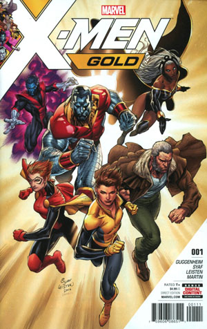 X-Men Gold #1 Cover A 1st Ptg Regular Ardian Syaf Cover (Resurrxion Tie-In)
