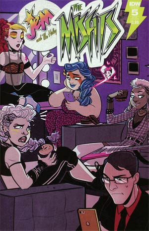 Jem And The Misfits #5 Cover B Variant Jenn St-Onge Subscription Cover