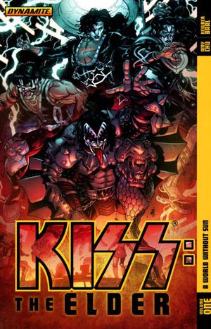 KISS The Elder Vol 1 A World Without Sun TP