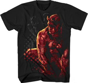 Daredevil Outta Sight Black T-Shirt Large