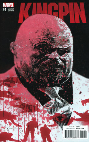 Kingpin Vol 2 #1 Cover G Incentive Bill Sienkiewicz Variant Cover