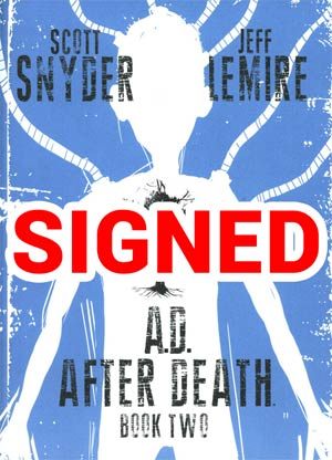 AD After Death Book 2 Cover B Signed By Scott Snyder