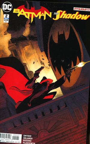 Batman The Shadow #2 Cover B Variant Tim Sale Cover