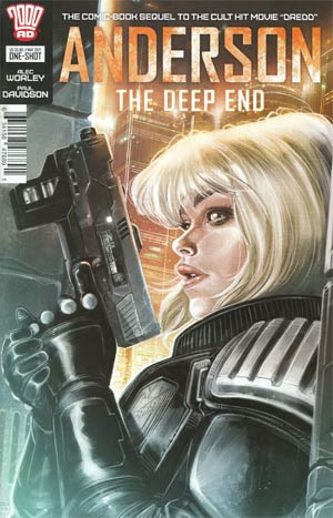 Anderson Deep End One Shot Cover A Regular Dylan Teague Cover