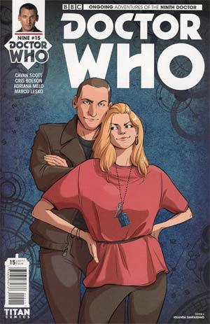 Doctor Who 9th Doctor Vol 2 #15 Cover A Regular Iolanda Zanfardino Cover