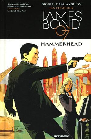Ian Flemings James Bond In Hammerhead HC
