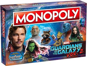 Monopoly Guardians Of The Galaxy Vol 2 Collectors Edition