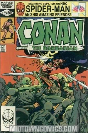 Conan The Barbarian #129