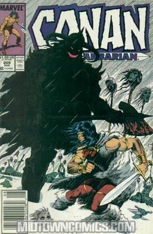 Conan The Barbarian #209