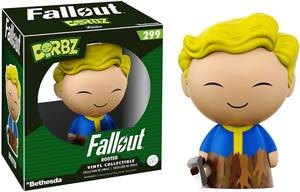 Dorbz 299 Fallout Vault Boy Rooted Vinyl Figure