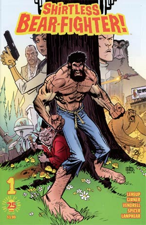 Shirtless Bear-Fighter #1 Cover A 1st Ptg Regular Andrew Robinson Cover