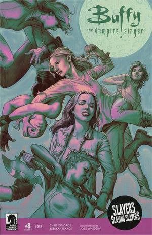 Buffy The Vampire Slayer Season 11 #8 Cover A Regular Steve Morris Cover