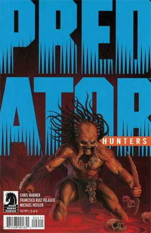 Predator Hunters #2 Cover A Regular Doug Wheatley Cover