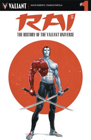 Rai History Of The Valiant Universe #1 Cover A Regular Clayton Crain Cover