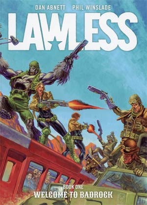 Lawless Vol 1 Welcome To Badrock TP