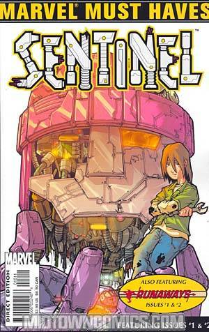 Marvel Must Haves Sentinel & Runaways # 1 & 2 Flip Book