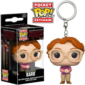 POP Stranger Things Barb Vinyl Figure Pocket Keychain
