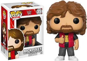 POP WWE 35 Mick Foley Old School Vinyl Figure