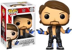 POP WWE 37 AJ Styles Vinyl Figure
