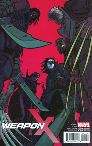Weapon X Vol 3 #2 Cover B Incentive Eric Canete Variant Cover (Resurrxion Tie-In)