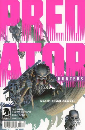 Predator Hunters #3 Cover A Regular Doug Wheatley Cover