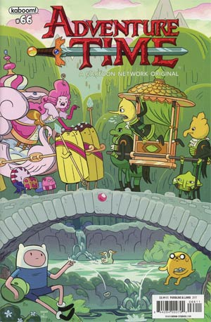 Adventure Time #66 Cover A Regular Shelli Paroline & Braden Lamb Cover