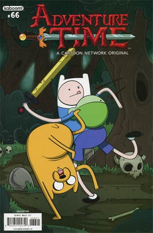 Adventure Time #66 Cover B Variant Michael Bills Subscription Cover