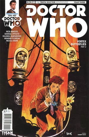 Doctor Who 10th Doctor Year Three #7 Cover A Regular Robert Hack Cover