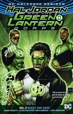 Hal Jordan And The Green Lantern Corps (Rebirth) Vol 3 Quest For Hope TP