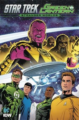 Star Trek Green Lantern Vol 2 Stranger Worlds TP
