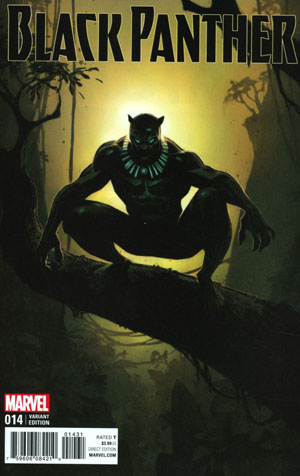 Black Panther Vol 6 #14 Cover C Incentive Andrew Robinson Variant Cover