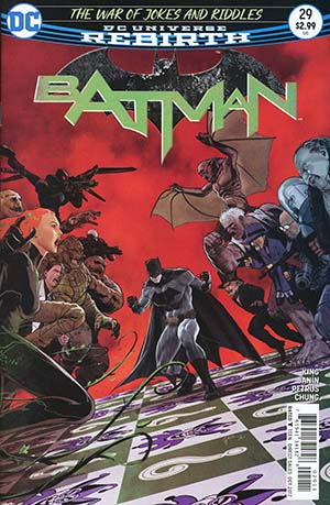 Batman Vol 3 #29 Cover A Regular Mikel Janin Cover