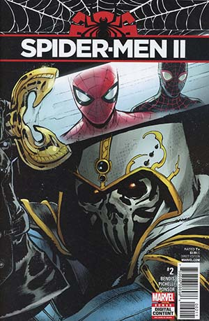 Spider-Men II #2 Cover A 1st Ptg Regular Sara Pichelli Cover
