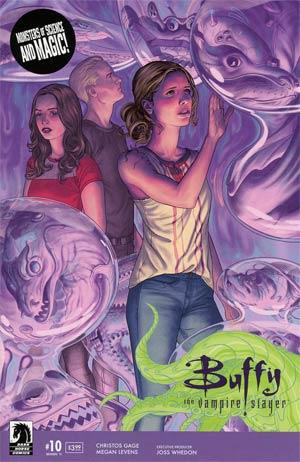 Buffy The Vampire Slayer Season 11 #10 Cover A Regular Steve Morris Cover