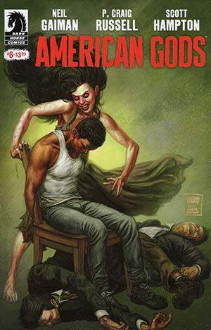American Gods Shadows #6 Cover A Regular Glenn Fabry Cover