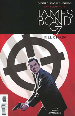 James Bond Kill Chain #2 Cover A Regular Greg Smallwood Cover