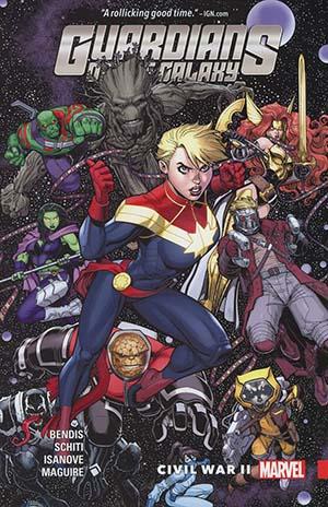 Guardians Of The Galaxy New Guard Vol 3 Civil War II TP