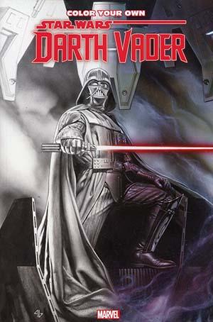 Color Your Own Star Wars Darth Vader TP